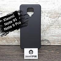 Силиконовый чехол для Xiaomi Redmi Note 9S Epik Черный