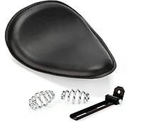 Комплект соло сиденье Bobber Seat Brown (крокодиловая кожа \ Заменитель) чорний