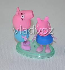 Свинка Пеппа и Мама игрушка резиновая и пластик