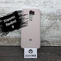 Силіконовий чохол для Xiaomi Redmi 9 Full Soft Рожевий