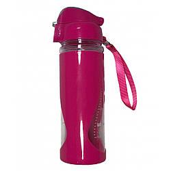 Спортивна пляшка Stenson R83624 450мл, рожевий