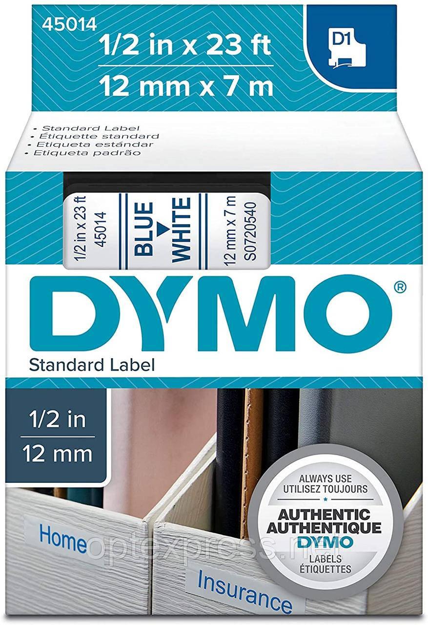 Картридж  S0720540 с пластиковой лентой системы D1 для  термопринтеров DYMO 12 мм х 7 м