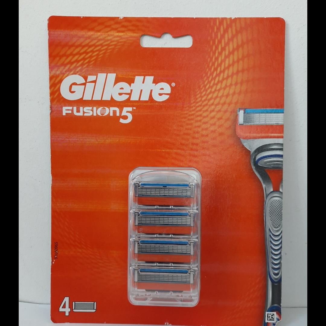 Кассеты для бритья мужские Gillette Fusion 5 4 шт. ( Кассета Фюжин павер ! )
