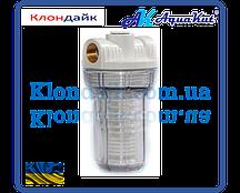 AquaKut Фильтр колба MIGNON Gusam 2P 5'1/2'  три выхода (с многоразовым промывным картриджем) HN