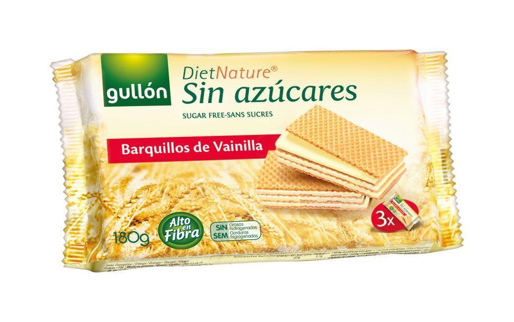 Вафлі GULLON без цукру Diet Nature ваніль, 180 г, 12шт/ящ