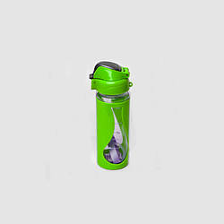 Пляшка спортивна Stenson R83624 450мл, салатовий