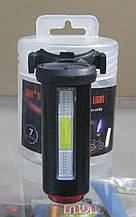 Стоп велосипедний 12 функцій, micro USB зарядка (чорний)