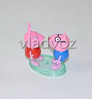 Друзья Свинки Пеппа игрушка резиновая и пластик