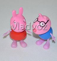 Друзья Свинки Пеппа игрушка резиновая и пластик, фото 3