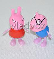 Друзья Свинки Пеппа игрушка резиновая и пластик, фото 2