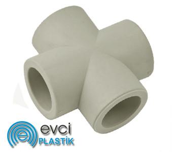 Крестовина Evci Plastik 32 полипропиленовая