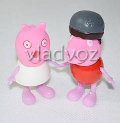 Друзья Свинки Пеппы игрушка резиновая и пластик