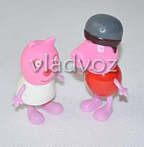 Друзья Свинки Пеппы игрушка резиновая и пластик, фото 2