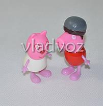 Друзья Свинки Пеппы игрушка резиновая и пластик, фото 3