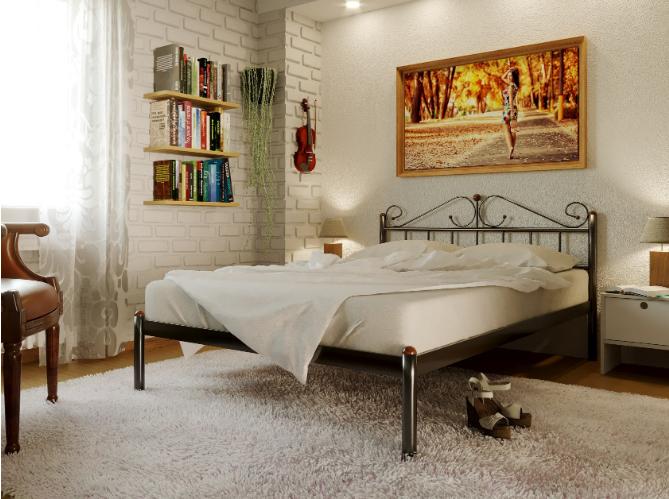 ROSSANA 1 - металлическая кровать ТМ МЕТАКАМ