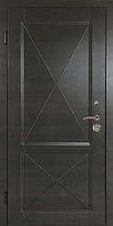 """Вхідні двері """"Портала"""" серія Тріо ― модель Граф 3 (Три контури)"""