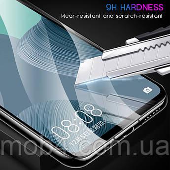 Захисне скло для Samsung Galaxy (Самсунг) A71 (На весь екран)