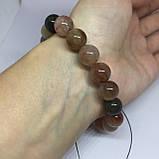Кварц волосатик красивый браслет кварц браслет с кварцем браслет с кварцем  Индия, фото 5