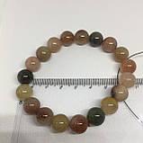 Кварц волосатик красивый браслет кварц браслет с кварцем браслет с кварцем  Индия, фото 4