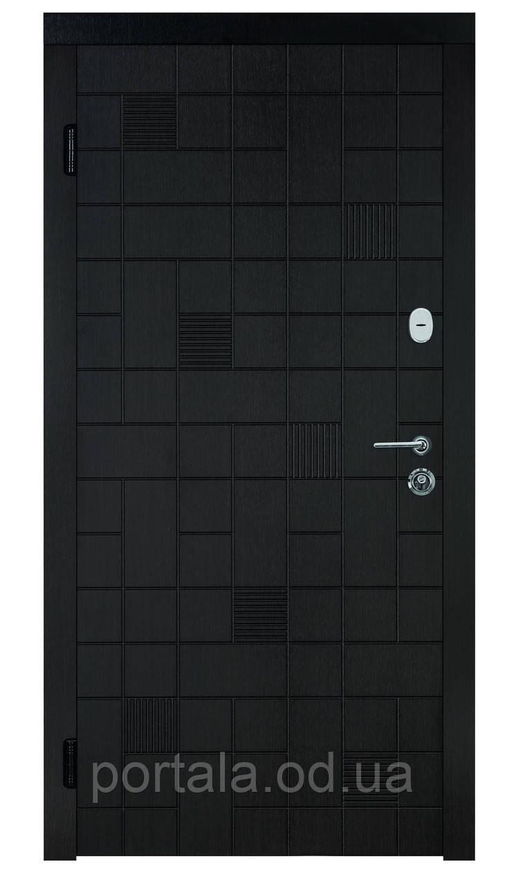 """Вхідні двері """"Портала"""" серія Тріо ― модель Каскад (Три контури)"""