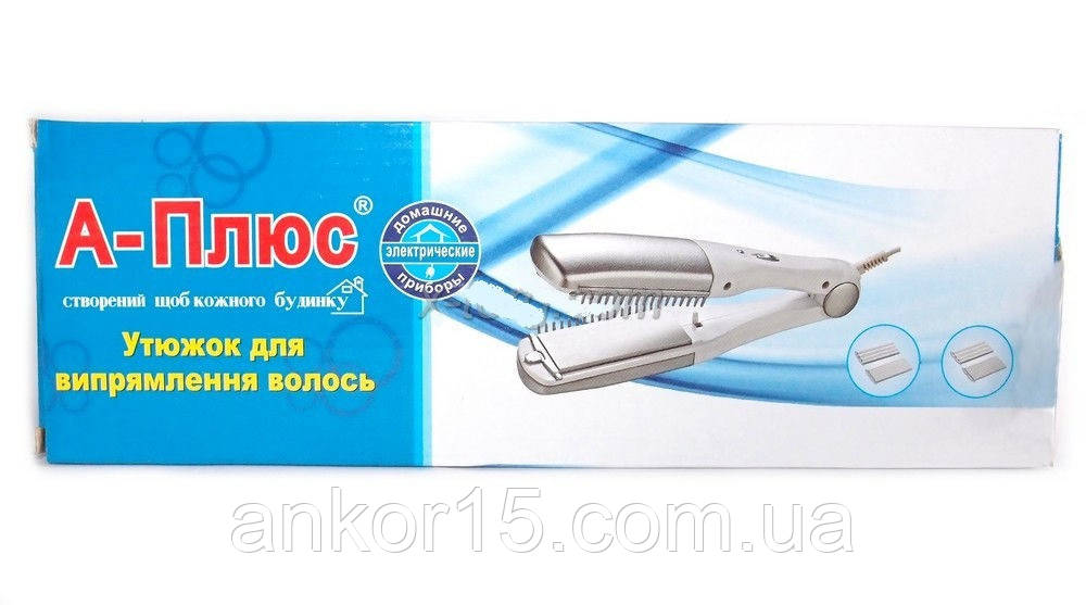 Утюжок для укладання волосся A-ПЛЮС 1533