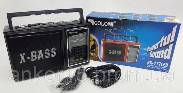 Радіо GOLON RX 177 LED