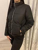Куртка женская на молнии с карманами, фото 1