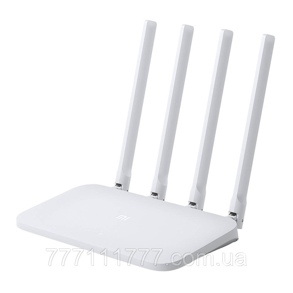 Роутер ксиоми белый с 4 антеннами и точкой доступа wifi Xiaomi Mi Router 4C UA UCRF