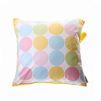 Cotton Living - Подушка с сердечком Sweety Dots (Yellow)