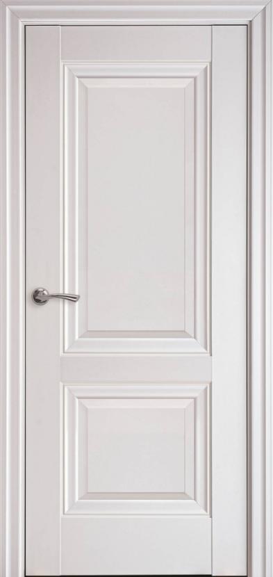 """Двері міжкімнатні новий стиль Елегант """"Імідж А ML2"""" 60,70,80,90 см з молдингом білий матовий"""