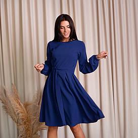 Платья женские Карина темно синяя