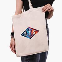 Еко сумка шоппер БТС (BTS) (9227-1062) екосумка шопер 41*35 см, фото 1