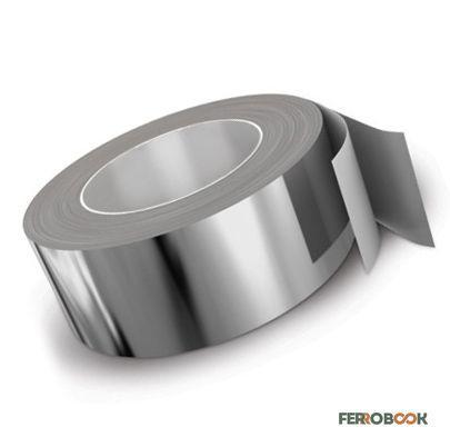 ВТ1-00 / Grade 1 титановая лента 0,5х140мм - 1м