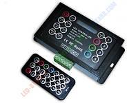 RGB Контроллер однозональный с радиоуправлением 18A с пультом LT-3800-3A