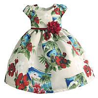 Платье для девочки Океан Zoe Flower (4 года)