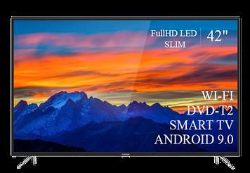 """ТЕЛЕВИЗОР THOMSON 42""""  Smart-TV FullHD T2 USB Гарантия 1 ГОД! Android 9.0"""
