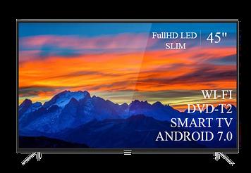 """ТЕЛЕВИЗОР THOMSON 45""""  Smart-TV FullHD T2 USB Гарантия 1 ГОД! Android 7.0"""