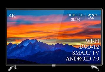 "ТЕЛЕВИЗОР THOMSON 52"" Smart-TV/DVB-T2/USB (1920×1080) Android 7.0 АДАПТИВНЫЙ 4К/UHD"