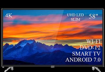 "ТЕЛЕВИЗОР THOMSON 58"" Smart-TV/DVB-T2/USB (1920×1080) Android 7.0 4К/UHD"