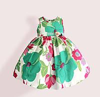 Платье для девочки Зеленая симфония Zoe Flower (2 года)