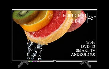"ТЕЛЕВІЗОР HISENSE 45"" Smart-TV Full HD T2 USB Гарантія 1 РІК!"