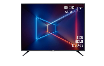 "ТЕЛЕВИЗОР SHARP 17"" HD-Ready DVB-T2 USB Гарантия 1 ГОД!"