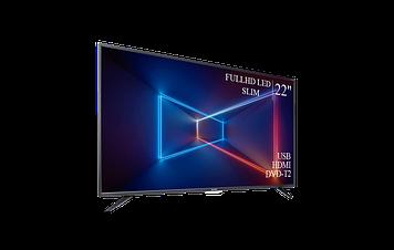 """ТЕЛЕВИЗОР SHARP 22"""" FullHD T2 USB Гарантия 1 ГОД!(1080р)"""