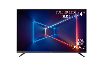 """ТЕЛЕВИЗОР SHARP 24"""" FullHD T2 USB Гарантия 1 ГОД!"""