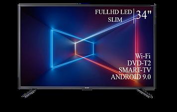 """ТЕЛЕВИЗОР SHARP 34""""  Smart-TV FullHD T2 USB Гарантия 1 ГОД!"""