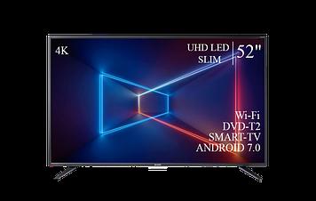 """ТЕЛЕВИЗОР SHARP 52""""  Smart-TV ULTRA HD T2 USB Гарантия 1 ГОД!"""