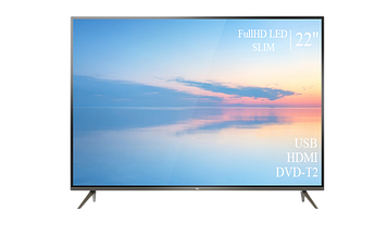 """Телевізор TCL 22"""" FullHD T2 USB Гарантія 1 РІК!(1080р)"""