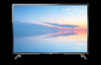 """Телевізор TCL 28"""" FullHD DVB-T2 USB Гарантія 1 РІК!"""