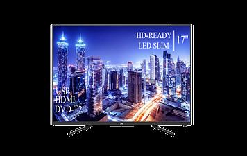 """Телевізор JVC 17"""" HD Ready T2 USB Гарантія 1 РІК!"""