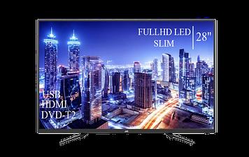 """Телевізор JVC 28"""" FullHD DVB-T2 USB Гарантія 1 РІК!"""